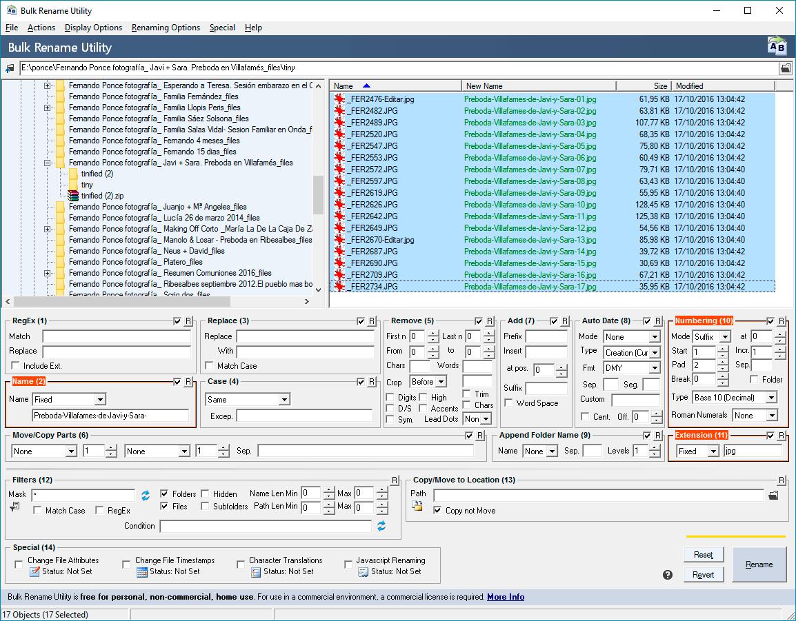 Buks rename utility